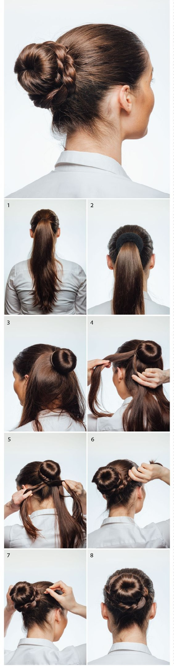 faire chignon hotesse de l air